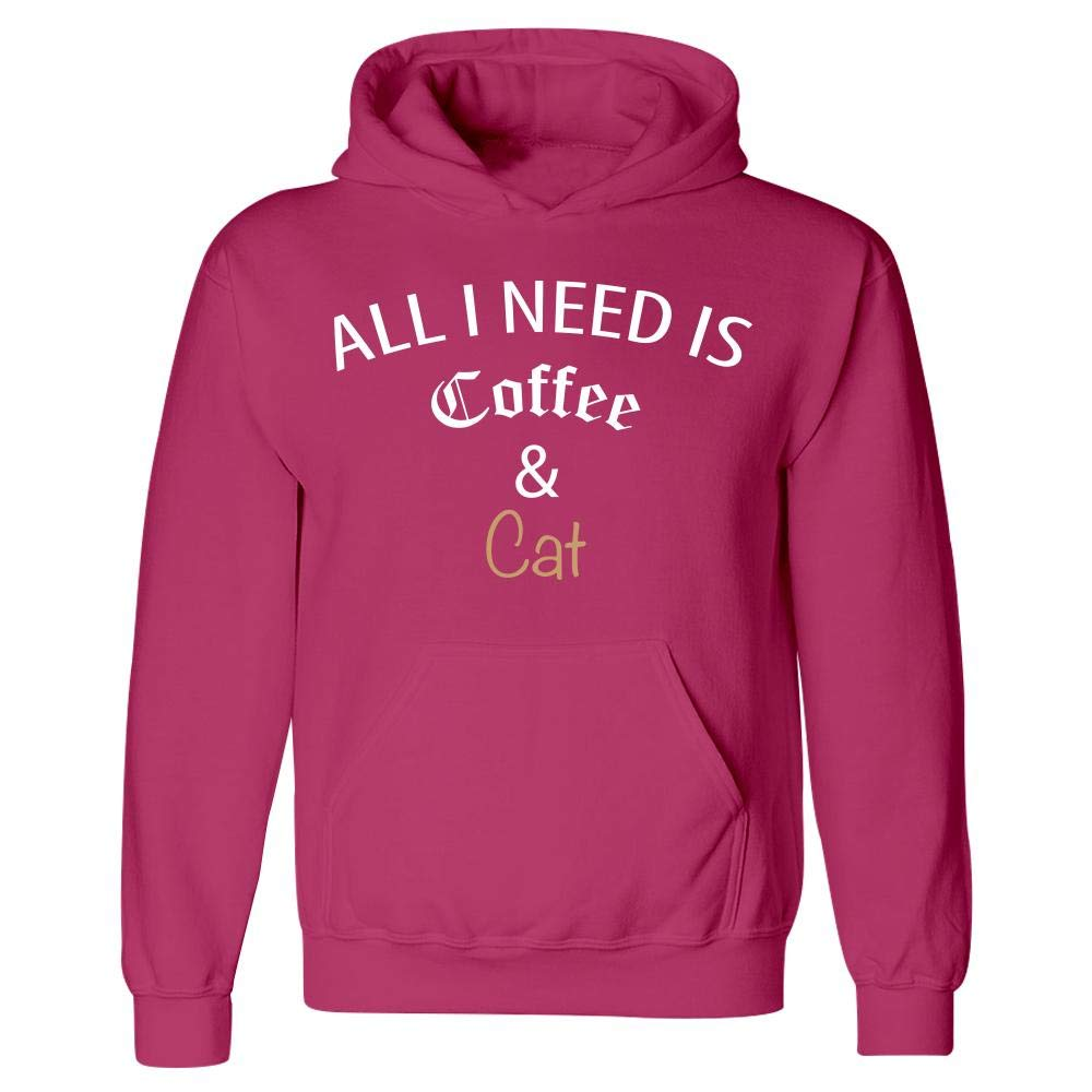 All I Need is Coffee and Cat Hoodie