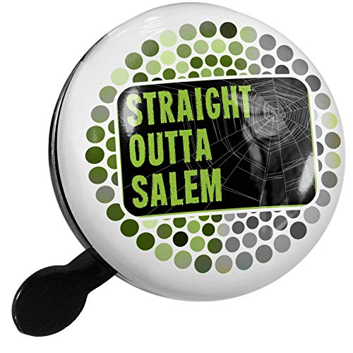 NEONBLOND Bike Bell Straight Outta Salem Halloween Creepy