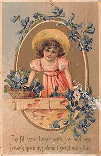 Valentines Day Post Card Old Vintage Antique Raphael Tuck & Sons Series # 11 1910