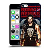 Official WWE LED Image 2017 Roman Reigns Hard Back Case for Apple iPhone 5c
