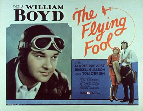 The Flying Court jester POSTER Movie (1929) Style B 11 x 14 Inches - 28cm x 36cm (William Boyd)(Marie Prevost)(Russell Gleason)(Tom O'Brien)(James Gleason)