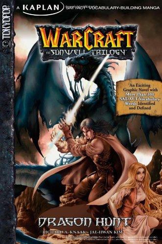 Warcraft: Dragon Hunt, Volume 1: Kaplan SAT/ACT Vocabulary-Building Manga (Warcraft: the Sunwell Trilogy) (v. 1) by Kaplan Publishing