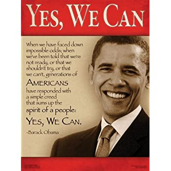 Barack Obama Quotes Yes We Can Amazon.com: President ...