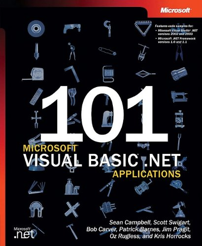 101 Microsoft® Visual Basic® .NET Applications (Developer Reference) by Brand: Microsoft Press