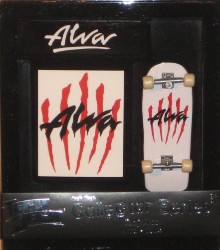 (Tech Deck Collector Series - (Tony Alva - Scratch Alva 1984) 96mm Skateboard)