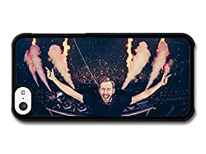 JD World ? Calvin Harris Live Screaming with Smoke and Fire case for iPhone 5C