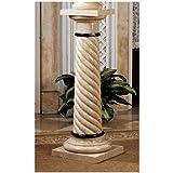 39'' Bottochino Natural Stone Marble Column Pedestal Stand