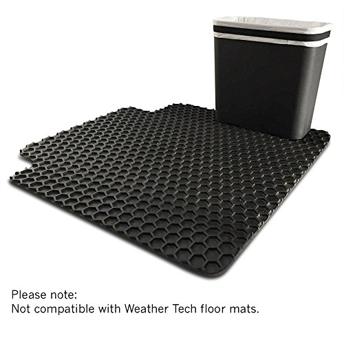 Kitchen Floor Mats Canadian Tire: Carbage Can Premium Car Trash Can W/ Floor Mat Clip And