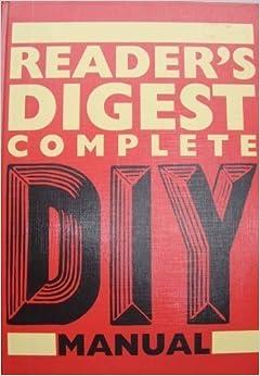 Readers digest home repair book