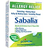 Boiron Sabalia, 60 Tablets, Homeopathic Medicine for Allergies