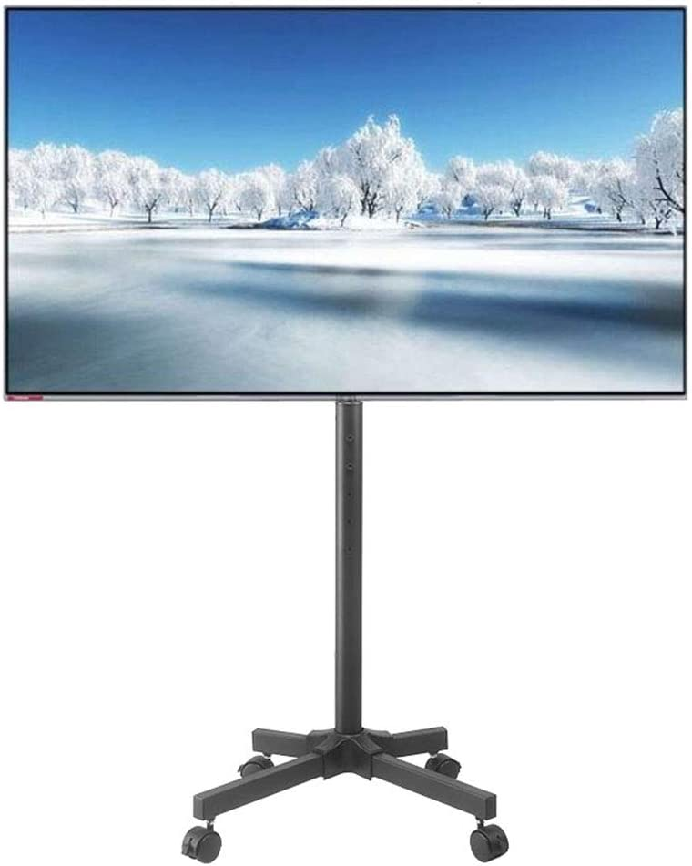 Xue-shelf Monitor LCD Soporte de 32-50 Pulgadas de Altura Ajustable Pantalla de TV Plana de la Carretilla, LED, LCD, OLED, Oficinas de Plasma, aulas: Amazon.es: Hogar