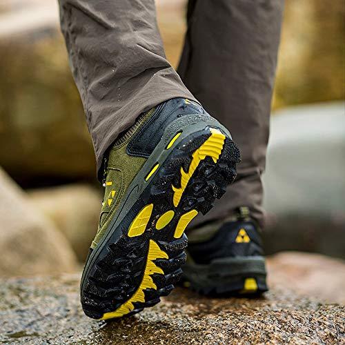 Mesh All'usura Da Casual Trekking Resistente Estive Unisex Verde Sneakers Running Scarpe Basse Adulto Meibax Escursionismo Traspirante g6wzqpv