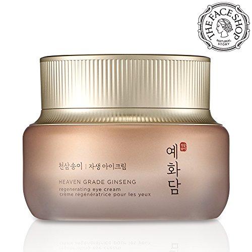 [THEFACESHOP] Yehwadam Heaven Grade Ginseng Regenerating Eye Cream, Premium Skin Care, Traditional Korean Herbs And Ginseng For Anti-Aging, Wrinkle Care Treatment (25mL/0.85 Oz)