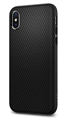 Spigen Liquid Air Armor iPhone X Case with Durable Flex (Large Image)