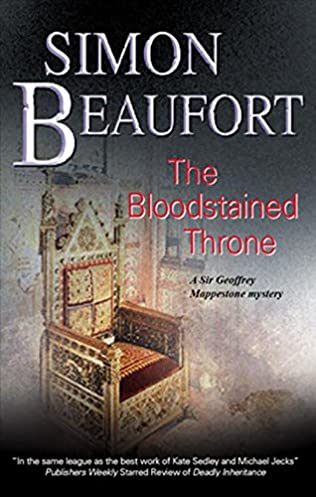 book cover of The Blood Stained Throne