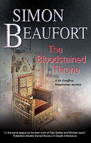 Bloodstained Throne (Sir Geoffrey Mappestone Mysteries Book 7)
