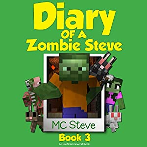Diary of a Minecraft Zombie Steve Book 3: Lost Temple Audiobook