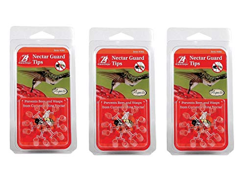 Aspects 3 Pack of Nectar Guard Tips, 12 Tips Per Pack, for Hummingbird Feeders