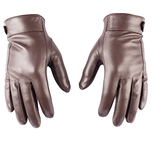 Cheap Mens Leather Gloves - 6