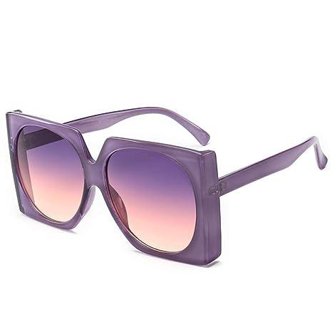 Yangjing-hl Gafas de Sol Hombres y Mujeres Moda Gafas de ...