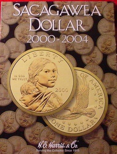 New Harris Sacagawea Dollar 2000-2004 Coin Folder 2715 (2000 Dollars)