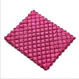 Anti-Greasy dishcloth washing dish towel Kitchen cleaning cloth wiping rags-Purple
