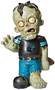 NFL Carolina Panthers Resin Zombie Figurine, Blue