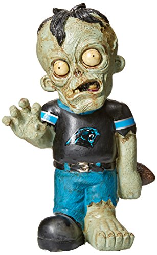 Carolina Panthers Resin Zombie Figurine