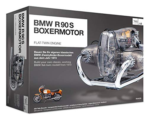 BMW R/90-S Flat Twin Airhead Engine Model Kit with Collector's Manual from BMW