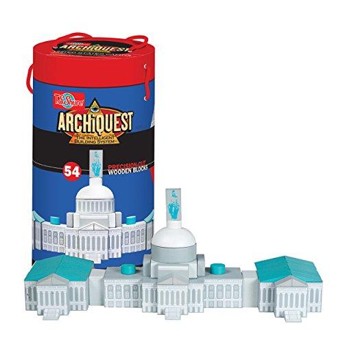 T.S. Shure ArchiQuest U.S. Capitol Building Wooden Architectural Blocks (Building Capitol Us)