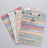 VT BigHome File Folder PaperCartoon Tower Flamingo Document Bag with Clip Filing Products Office School Stationery Pouch