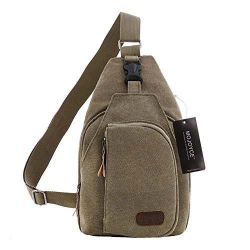 Messenger Bags Crossbody Bag Shoulder Small Bag Army Chest Fashion Greensmall Men Canvas Widewing Iz0ZUw