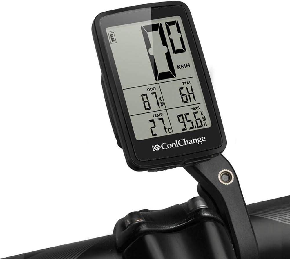 Wisdomx Bicicleta Cuentakilómetros Inalámbrica Ciclismo ...