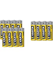 Varta Superlife Type AAA Carbon Zinc Battery - Set of 12