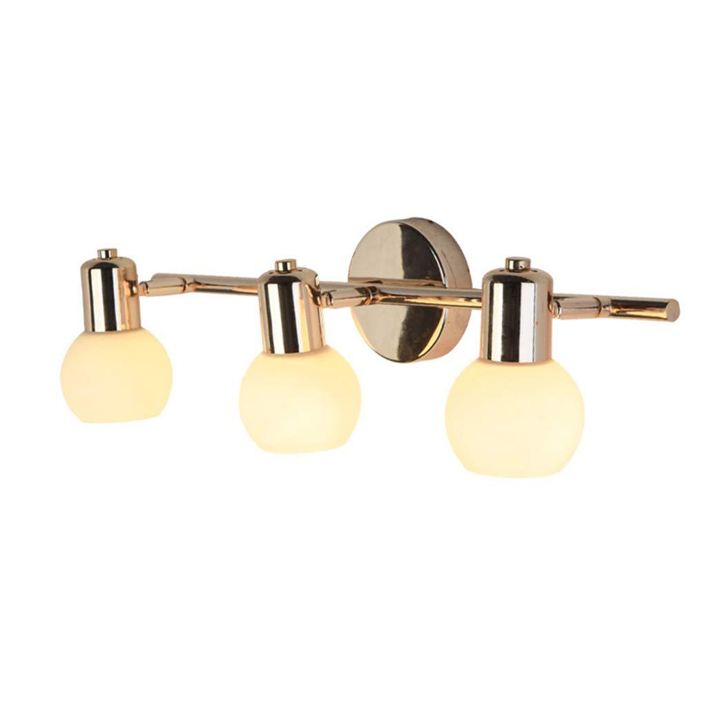 &Spiegelleuchte LED-Spiegelscheinwerfer, Spiegelschranklampe Nachtwandleuchte Make-up Beleuchtung