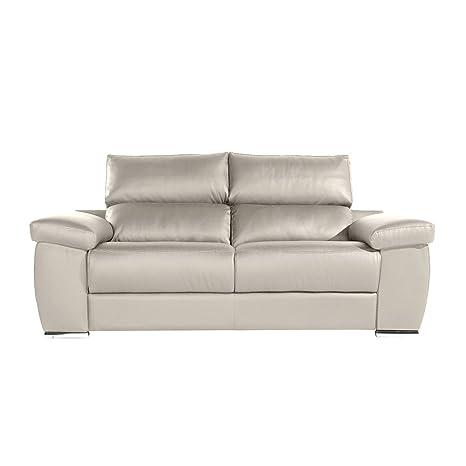 Zendo Sofas Mambo sofá de 2 plazas Fijo, Piel, Toffee, 178 x ...