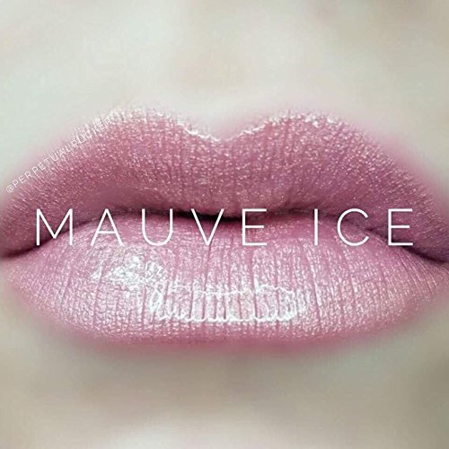 Lipsense Collection: Lip Color, Glossy Gloss, Ooops Lip Color Remover (Mauve Ice) - Mauve Ice