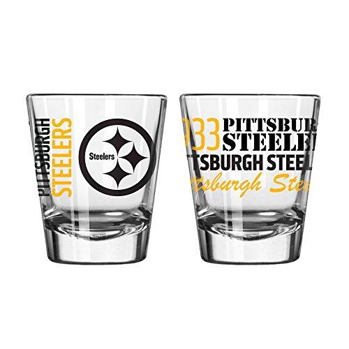 NFL Pittsburgh Steelers 2 OZ Spirit Shot Glass