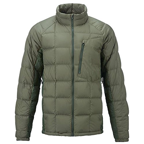 Burton Men's AK BK Down Insulator Jacket, Forest Night/Dusty Olive, (Ak Lightweight Fleece)