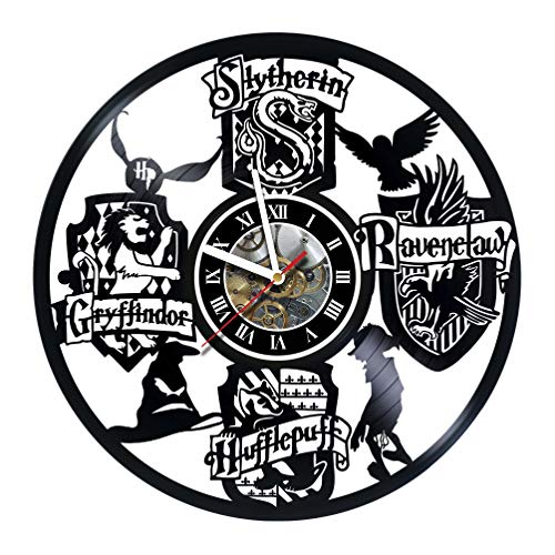 HARRY POTTER movie Design Vinyl Wall Clock – handmade gift for any occasion – unique birthday, wedding, anniversary, Valentine's day gifts - Wall décor Ideas - LEAVE A FEEDBACK AND WIN A CLOCK