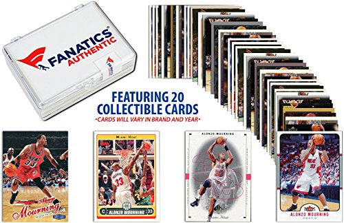 (Alonzo Mourning Miami Heat Collectible 15 Card Lot - Basketball Player Sets)
