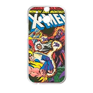 HTC One M8 Cell Phone Case White X Men BUS Cell Phone Case Hard Design