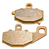 2004-2010 Kawasaki ZX 10 R (ZX 1000) Sintered Metal Rear Brake Pads 2005 06 07 08 09