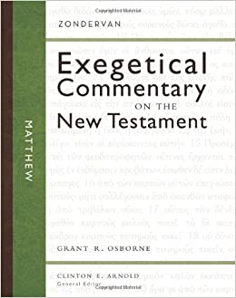 Matthew Zondervan Exegetical Commentary On The New border=