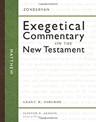 Matthew HB (Zondervan Exegetical Commentary on the New Testament)