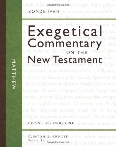 Matthew (Zondervan Exegetical Commentary on the New - Matthews Store