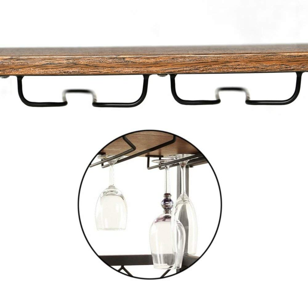 Amazon.com - Gracie Oaks Rustic Rectangular Industrial Bar ...