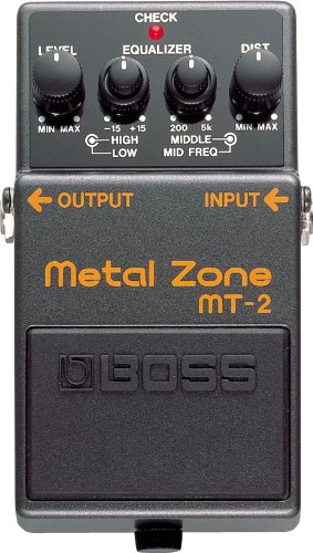Boss MT-2 Metal Zone Distortion Guitar Pedal by BOSS