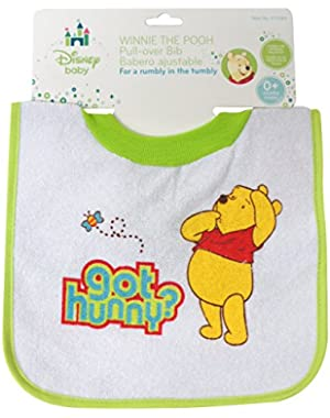 Winnie The Pooh Deluxe Pullover Bib