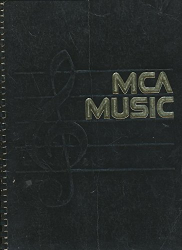 MCA Music: For Professional Use Only